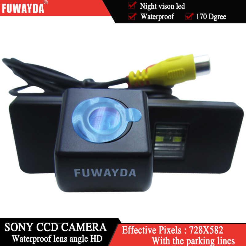 Fuwayda Không Dây Sonyccd Phía Sau Xe Ngược Đậu Xe Dự Phòng An Toàn Camera Cho Đồng Hồ C4/ C5/ C-Khải Hoàn Môn/C-Quatre Hatchback