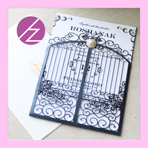 Wholesale And Retail Open Door Invitation Cards Hot Sale