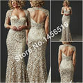 2017 Mother Of The Bride Dresses Mermaid Sweetheart 3/4 Sleeves Lace Long Brides Mother Dresses For Weddings Plus Size