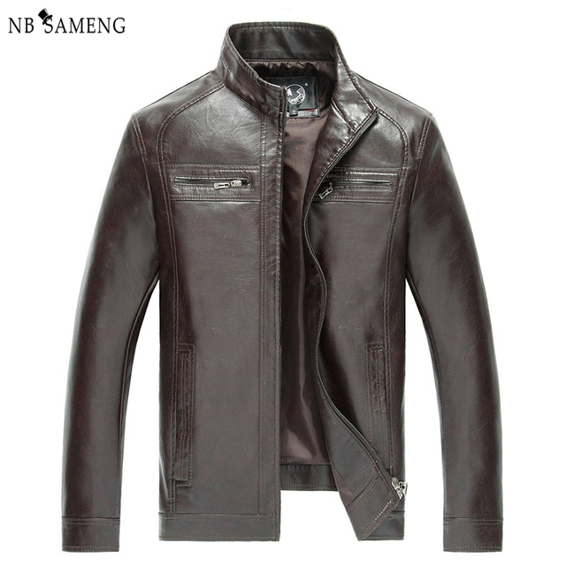 High Quality New Style Brand Luxury Fashion Men's Leather Jacket 5XL Business Casual Haining Leather Jacket Men Coats  NSWT3002