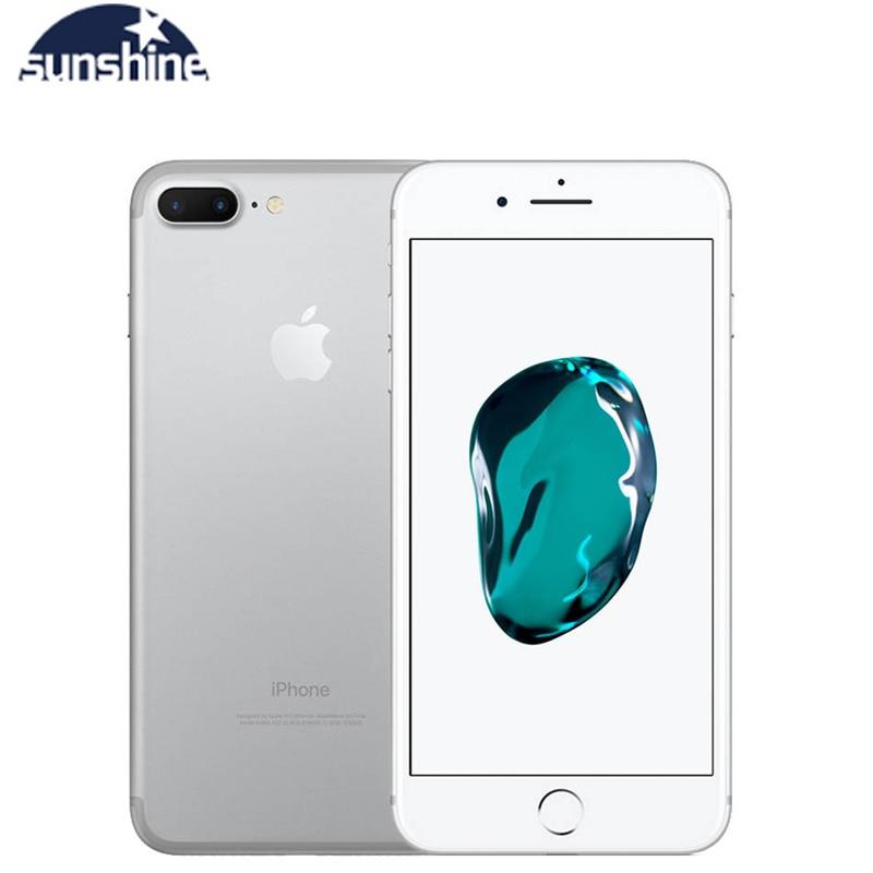 Apple IPhone 7 Plus Cellphone Original Unlocked Fingerprint 4G 5.5'' 12.0MP LTE Mobile Phone 3G RAM 32G/128G/256G ROM Quad-core