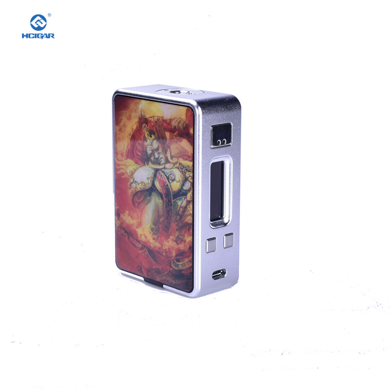 Cigarette électronique Mods D'origine HCIGAR VT Boîte de Réception V3 Mech Mod 75 W Vaporisateur Alimenté Evolv Glisser TC DNA75 Puce Alimenté 18650 Batterie - 3