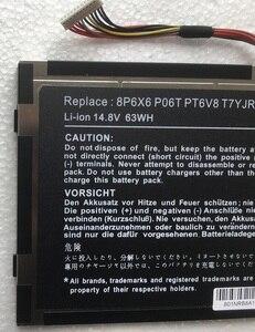 Image 3 - SupStone Новый 63Wh 8P6X6 P06T PT6V8 T7YJR ноутбук Батарея для Dell Alienware M11x M14x R1 R2 R3 08P6X6 KR 08P6X6 Батарея Бесплатная доставка