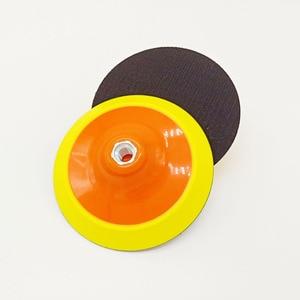 Image 3 - 그라인더 기계 및 폴란드어 패드에 대 한 6 인치 150mm 백업 플레이트 샌딩 패드 후원 플라스틱 후원자 패드