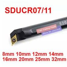 1 шт. S08K-SDUCR07/S10K-SDUCR07/S12M-SDUCR07/S16Q-SDUCR011/S20R-SDUCR11/S25S-SDUCR11/S32T-SDUCR11 SDUCL07/11 токарные инструменты