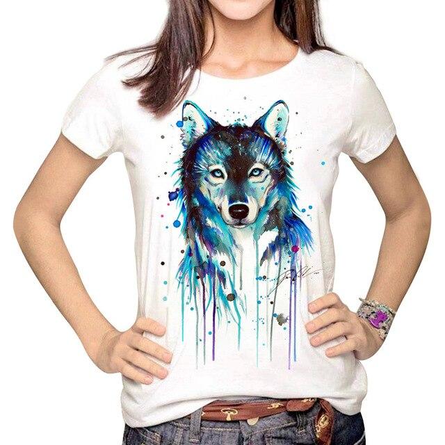 Dark Wolf Crew Neck T Shirt...
