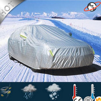 ATL High quality D5k Thicken high density flocking car cover,rain proof snow defence ,dust proof and hail proof