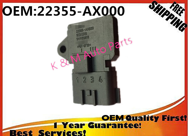 Auto Replacement Parts High Air Flow Meter 22365-ax000 5wk96819 For Nissan Micra K12 22365-ax000 5wk98819 22365 Ax000 Map Pressure Sensor Air Flow Meter