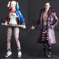 Crazy Toys Movie Suicide Squad Harley Quinn Figure Batman Begins Arkham PVC Action Figures Super Heroes