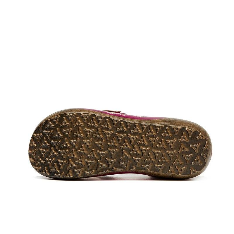 Gladiateur 881 01 Mode Femelle Main Chaussures Véritable Casual À Femmes Été En Plat Sandales 2017 La Cuir aq1wZB1Y