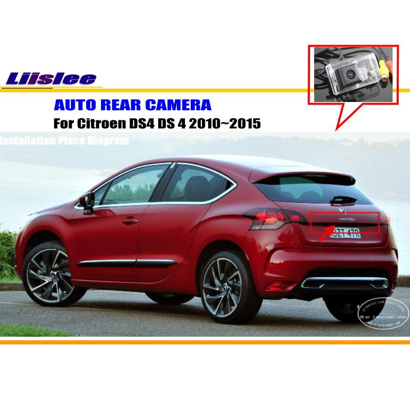 Liislee For Citroen DS4 DS 4 2010~2015 - RearView Camera / Backup Parking Camera / HD CCD RCA NTST PAL / License Plate Light CAM