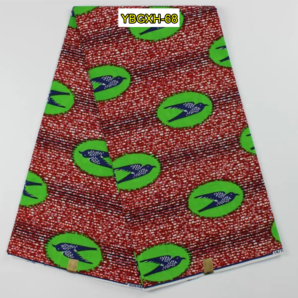 Buy ybgxh 68 green red swallow bird for Fabric purchase