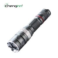 Chenglnn Self Defense Flashlight Waterproof 800LM Powerful LED Torch 5 Mode SOS Cree XML T6 LED Flash light for Camping Hunting