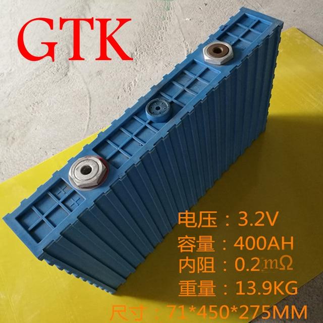1pcs Lifepo4 3 2v 400ah Battery 24v 48v Diy Energy Storage