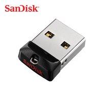 SanDisk-unidad Flash USB para ordenador portátil, pendrive de 8GB, 16GB, 32GB, 64GB, mini USB 2,0, disco U para audio de coche y Escritorio