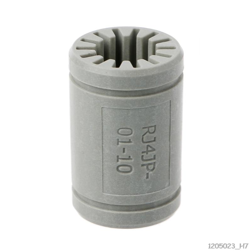 Igus Drylin RJ4JP-01-10 3D Printer Solid Polymer LM10UU Bearing 10mm shaft