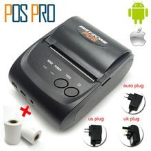IMP006 Горячие продажи Мобильный Мини Портативный Термопринтер Портативный Pos-принтеры Bluetooth 4.0 для android iOS Двойная система