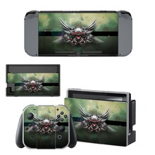 Anime Cute Girl Fate Decal Vinyl Skin Sticker for Nintendo Switch NS Console + Joy-Con Controller + Dock Station
