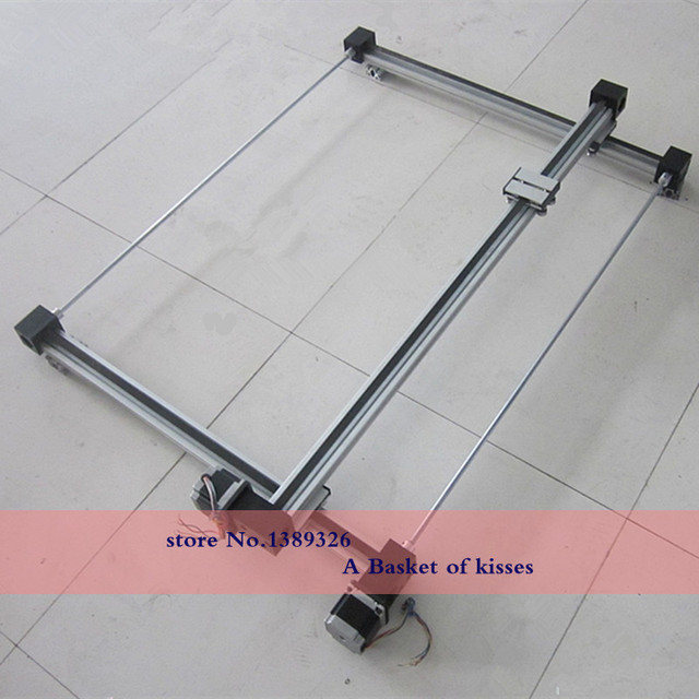 Linear guide slider module Longmen mechanical hand motor synchronous belt linear guide slider module L=450 450650
