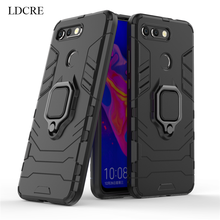 Huawei Honor V20 Case Magnetic Finger Ring Kickstand Hard Phone For View 20 Cover Fundas 6.4