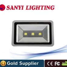 Высокая Яркость 150 Вт Светодиодный прожектор высокой Мощность напольный свет AC 85-265 В IP65 квадратный лампы Play землю свет 3 года гарантии