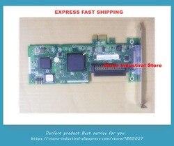 Original 29320LPE PCI-E X1 interface SCSI festplatte array karte ASC-29320LPE