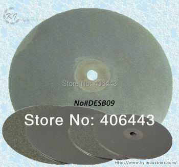 """8"""" Electroplated Diamond Grinding Disc 200mm Polishing Pads for Glass Ceramics and Lapidary 80#-2000#"""