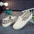 2016 low in spring and summer to help curb the lazy shoes sandals recreational canvas shoes female thick soles