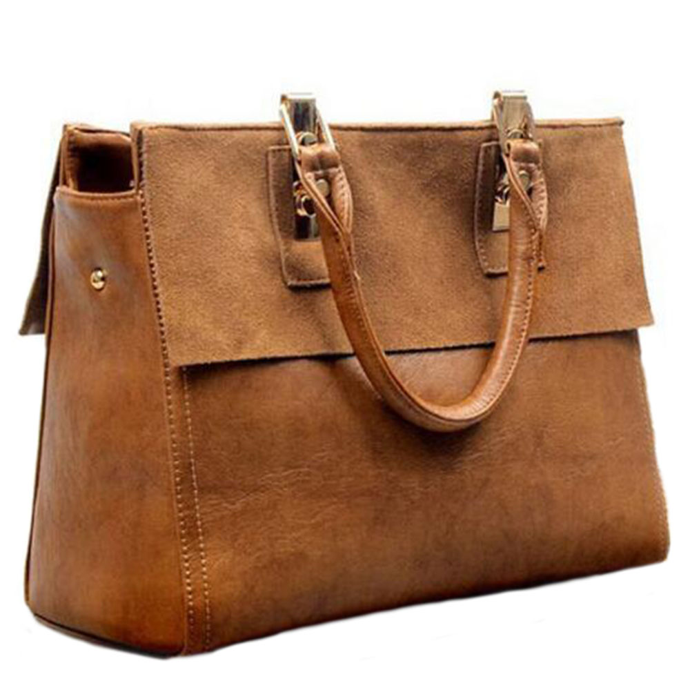 SFG HOUSE Genuine Leather Totes Bag Women Handbag Elegant Vintage Women Messenger Bags Casual Work OL Cross Body Bags 2017 dikizfly soft genuine leather women handbags casual totes bag real leather brand work handbag purse elegant messenger bags bolsa