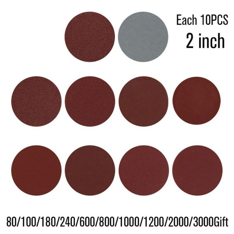 High Quality 100 Pcs 50mm Sanding Disc Set 2