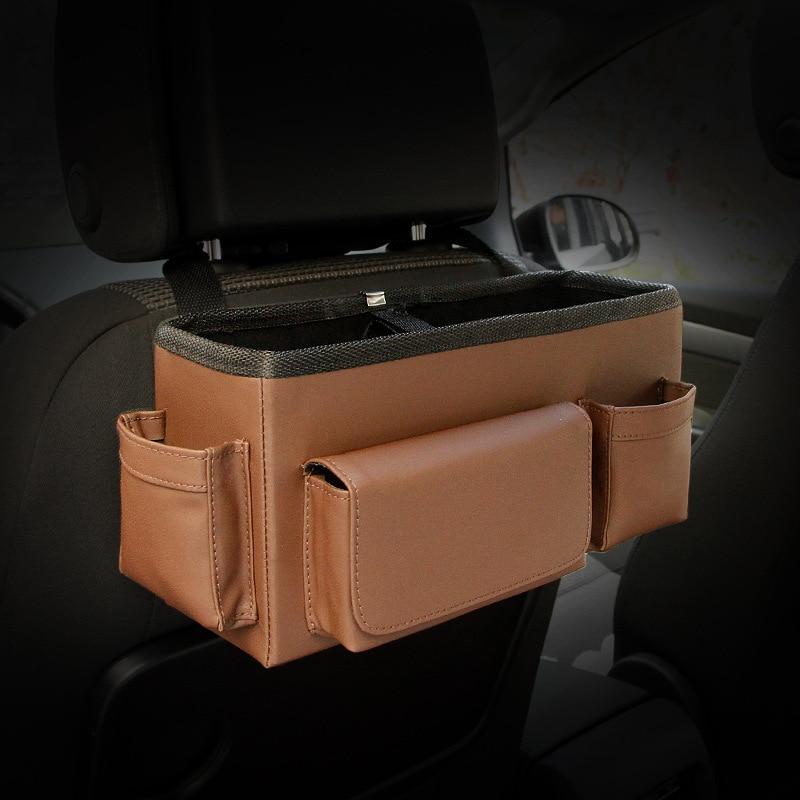 Auto achterbank Opvouwbare draagbare opbergbox Multi-Use Auto - Auto-interieur accessoires - Foto 5