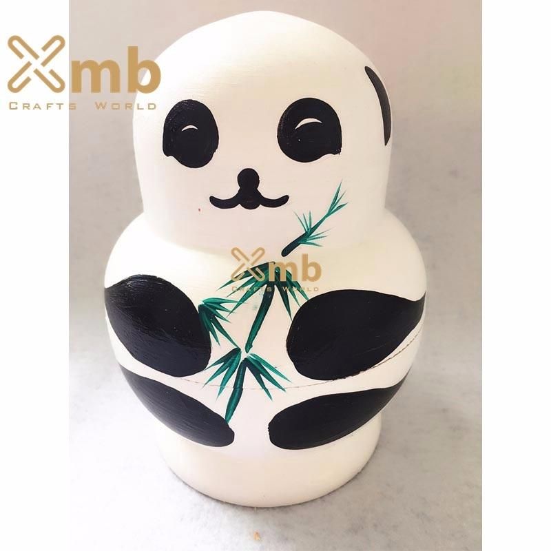Bonecos Cartoon Penguin Bonecas Russa Matryoshka babushka Presente Home Decor