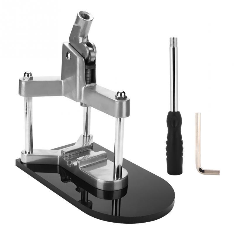 Machine de fabrication d'insigne conçue par ergonomie faisant l'outil de couture de Machine d'emblème de bouton poussoir de presse de bouton-poussoir