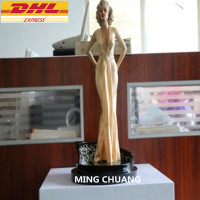 Statue Marilyn Monroe Bust Full Length Portrait 1:4 Resin Action Figure Collectible Model Toy D289