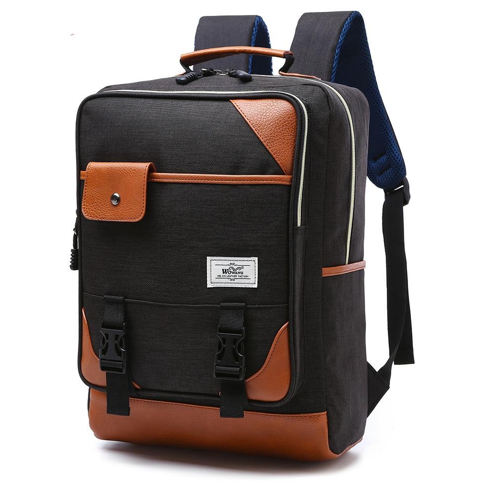 2016 New Laptop Backpack Men Women Backpacks Nylon Book ...