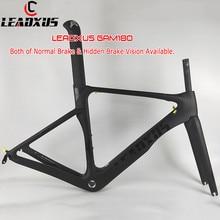 цена на LEADXUS GAM180 Strong Aero Carbon Bicycle Frame Road Aero Bike Carbon Fiber Frame Many Colors Choice