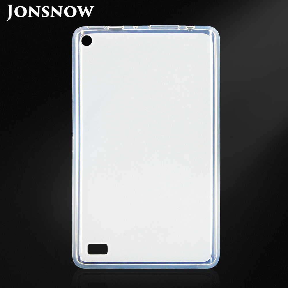 JONSNOW Protective Case for Amazon Kindle Fire HD 7 2017 7 inch Pudding  Anti Skid Soft TPU Hot Selling Tablet Cover