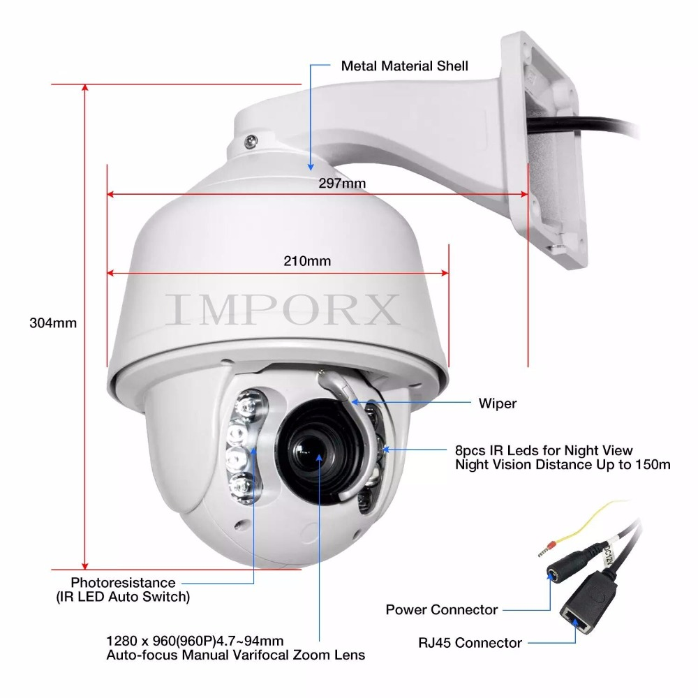 New arrival 3MP /2MP Network Onvif IP PTZ speed dome Full HD 20X 30X optical zoom ptz ip camera 60m IR auto tracking function auto tracking ptz full hd1080p ir ip camera with 8g sd card 20x zoom camera