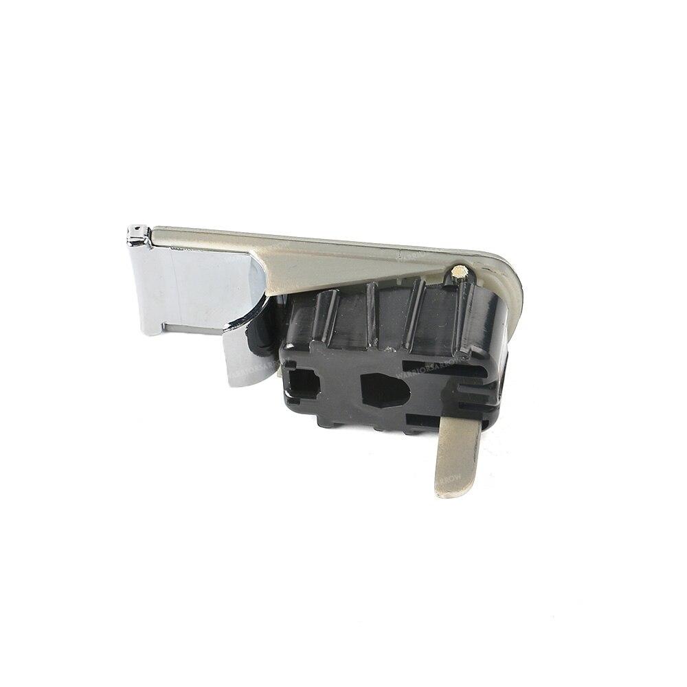 Black Glove Box Lock Lid Handle No Lock Cylinder For Audi A4 8E B6 B7 2002-2008