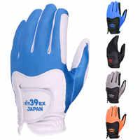 Cooyute Neue Fit-39 Golf Handschuhe Männer der Rechtshänder Golf Handschuhe 5 Farbe Einzigen farbe 5 teile/los Handschuhe golf Kostenloser Versand