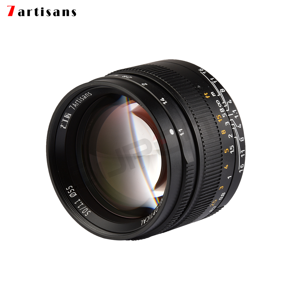 7artisans 50mm f1.1 large aperture as prime F1.1 M Mount Fixed Lens for Leica M-Mount Cameras M-M M240 M3 M6 M7 M8 M9 M10 leica m