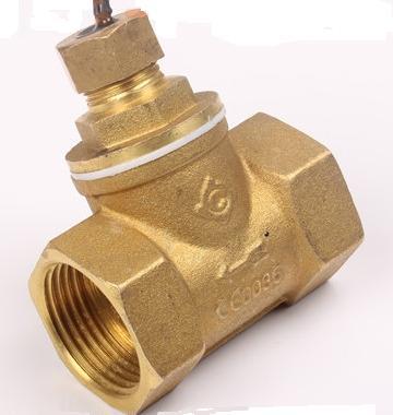 DN40 interrupteur de débit d'eau en cuivre G1.5 ''interrupteur de débit magnétique liquide