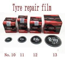 Productos de reparación de neumáticos de vacío película de reparación en frío Paquete de reparación de neumáticos de vacío vulcanización