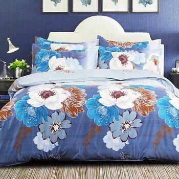 2017 Luxury home textiles sanding king queen size -jacquard flocked bedding set bedclothes duvet cover fleece fabric bed sheet
