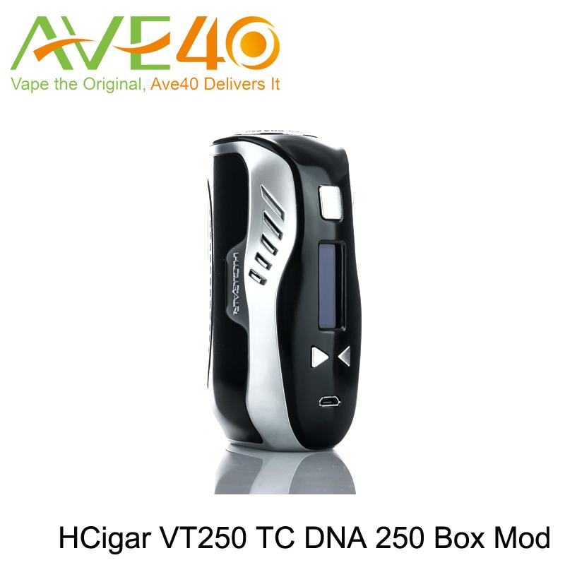 Prix pour D'origine hcigar vt250 adn 250 w tc boîte mod puissance by triple 18650 batteries hcigar vt250