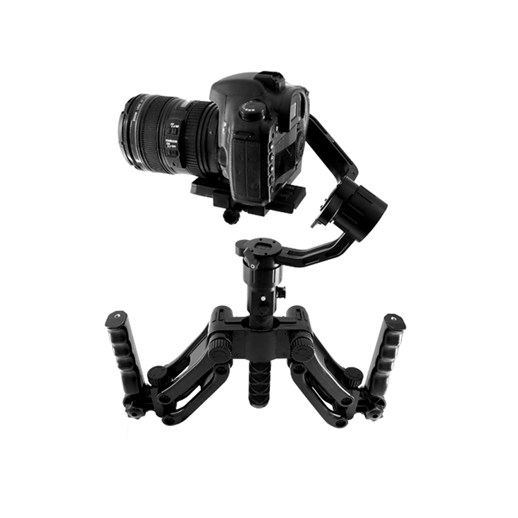 Steadymaker Universal Handheld Gyroscope Stabilizer Spring 5 axis Shock Absorber 4 5kg load For SLR Camera