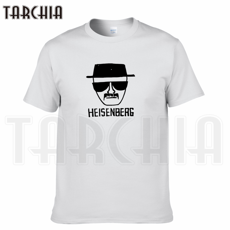 TARCHIA 2019 summer brand heisenberag t-shirt cotton tops tees men short sleeve boy casual homme tshirt t shirt plus fashion
