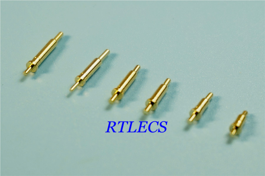 Lighting Accessories Connectors 50pcs Spring Loaded Pogo Pin Connector 12 Pin 2.54 Mm Pitch 8.0 Mm Height Surface Mount Smt Vertical Dual Row 2x6 12 Poles