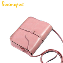Chara's Bags brand women's Hand Bag Leisure leather Crossbody small Square package bags for women Mini Shoulder Bags