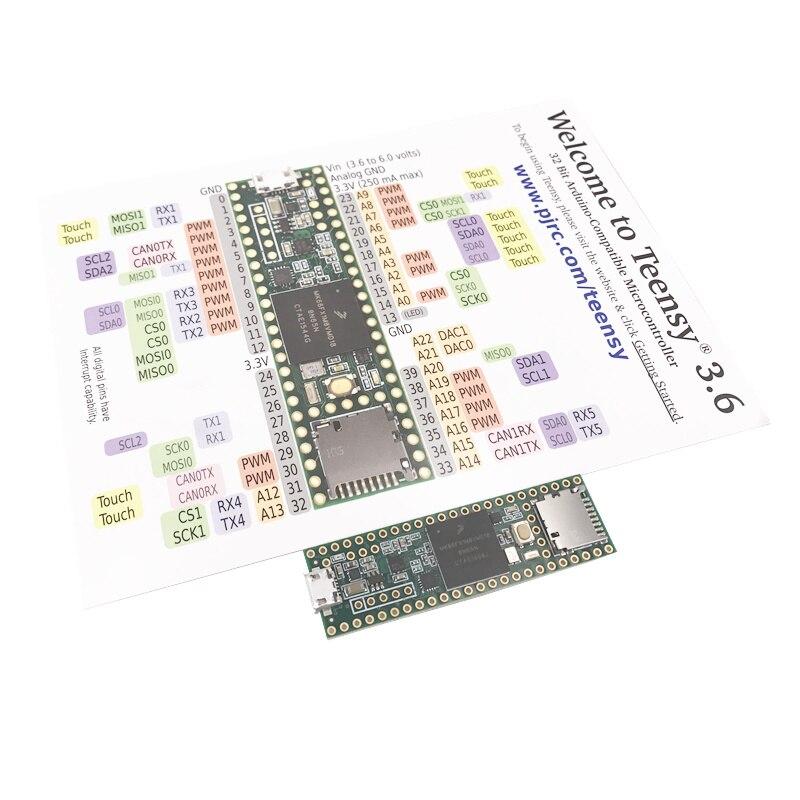 Spot 3266 Teensy 3.6 MK66FX1M0VMD18 Industries Teensy3.6 sans têtes module conseil de développement